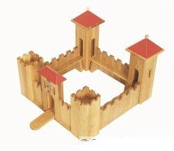 small wooden castle