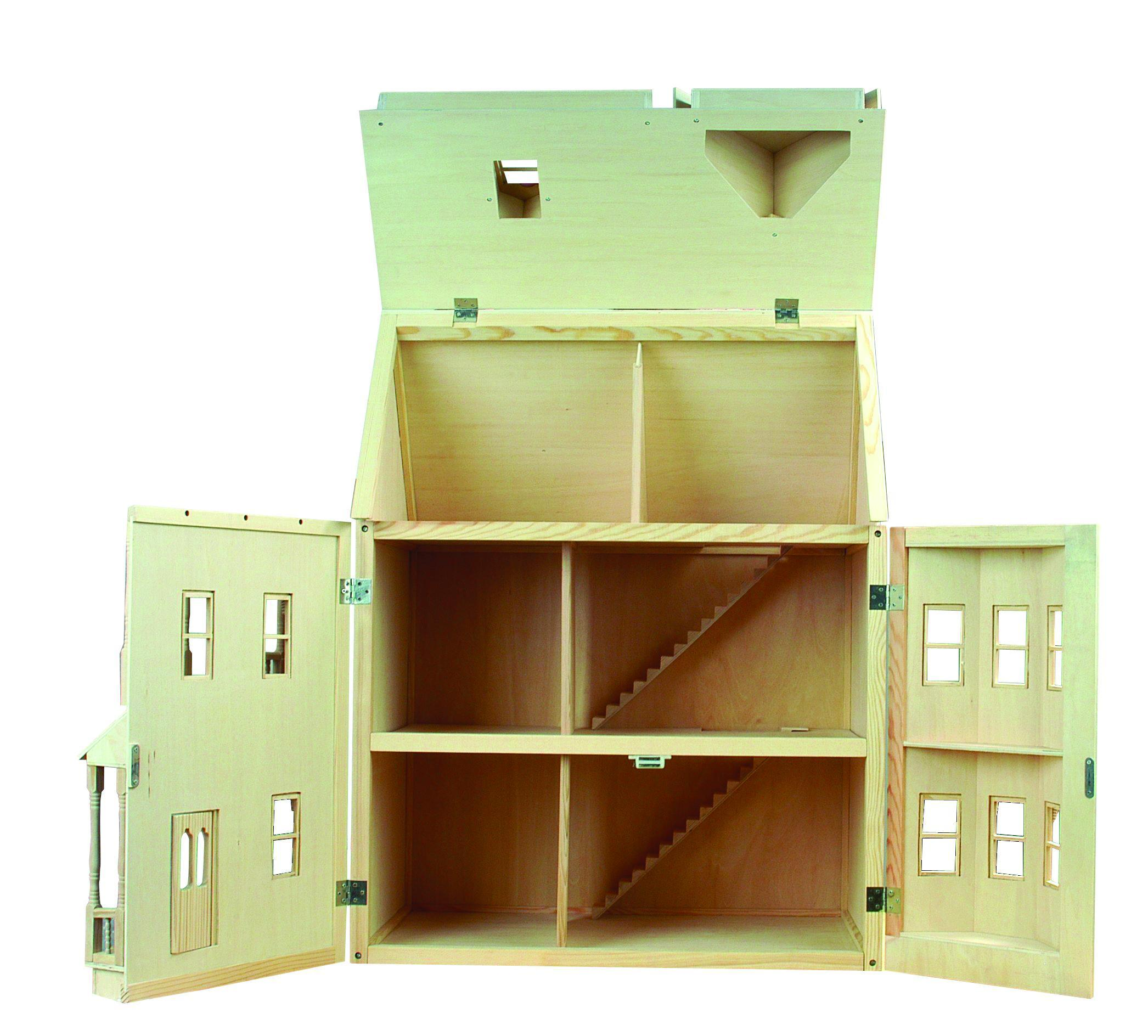 Le Wooden Toy Buy Victorian 1 12th Scale Wooden Doll House
